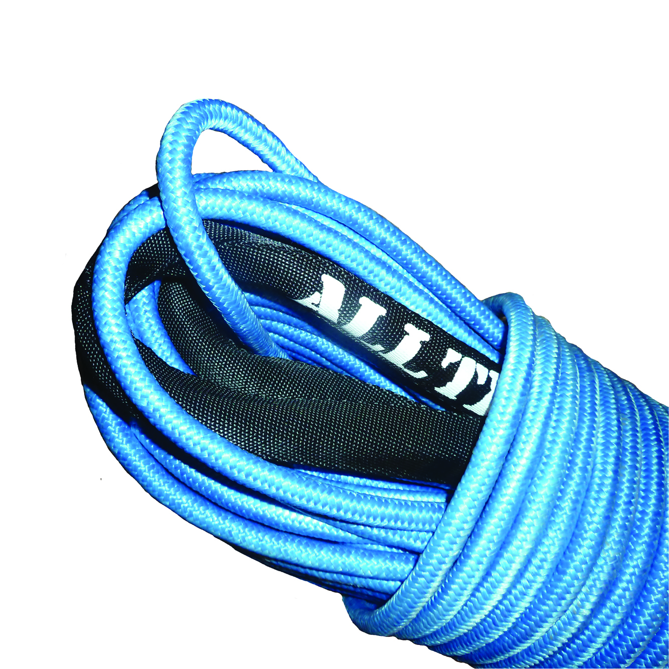 Alltracks Synthetic rope 12mm blue double braided